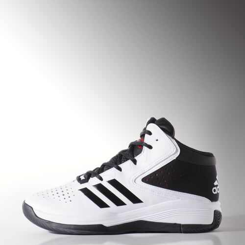 adidas - Hommes Cross 'Em 4 Shoes Ftwr White / Core Black / Scarlet D69479