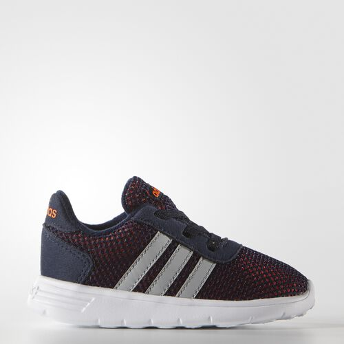 adidas - Infants Lite Racer Shoes Collegiate Navy / Clear Onix / Solar Orange F99662