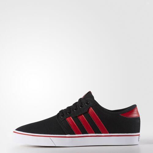 adidas - Men's Seeley Shoes Core Black/Scarlet/White F37734