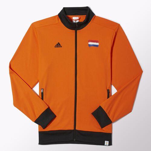 adidas - Hommes Holland Track Jacket Orange / Black G77802