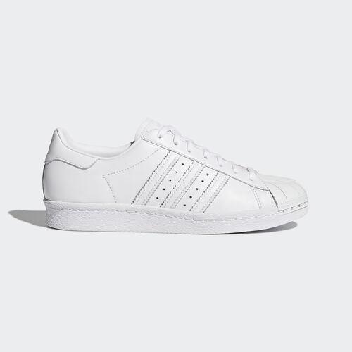 adidas - Femmes Superstar '80s Metal Toe Shoes Ftwr White / Ftwr White / Core Black S76540