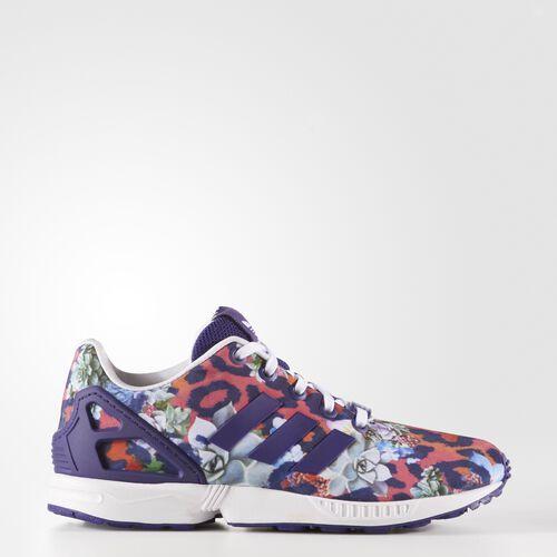 adidas - Zapatillas Originals ZX FLUX niños Collegiate Purple/Collegiate Purple/White S76286