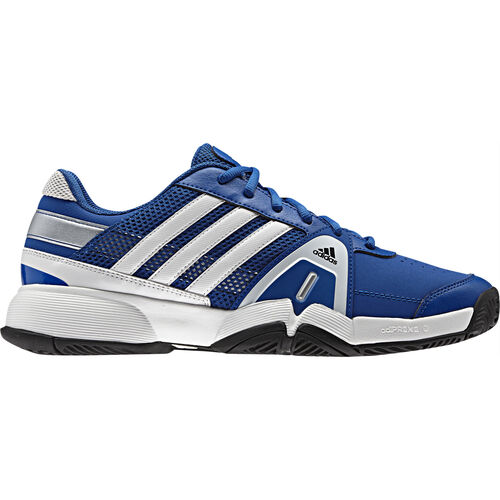 adidas - Men's Barricade Team 3 Shoes Blue Beauty / Metallic Silver / Running White Q35150