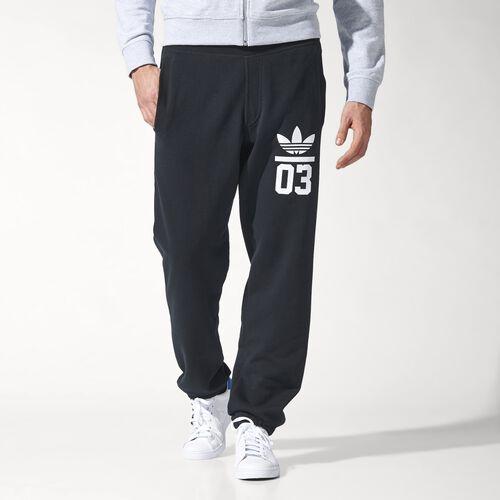 adidas - Men's 3-Foil Sweat Pants Black S18608