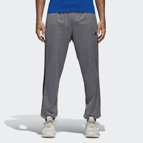 adidas - Pantalón Essentials 3 Rayas DGH SOLID GREY/BLACK B47221