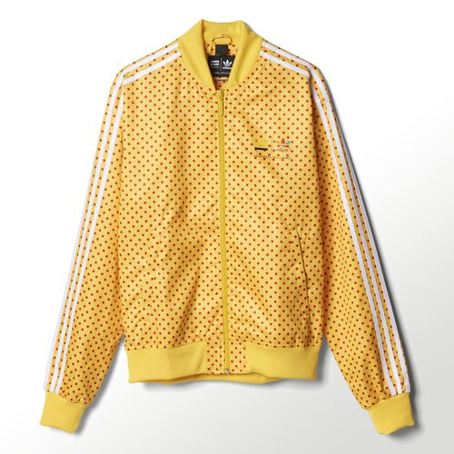adidas - Hommes Pharrell Polka-Dot Track Jacket Yellow Z97397