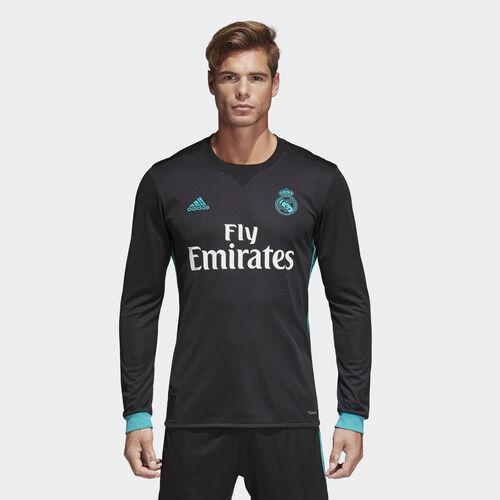 adidas - Jersey Real Madrid Visitante Replica Manga Larga BLACK/AERO REEF S11 B31088