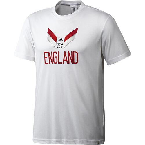 adidas - Men's England Tee White F39519
