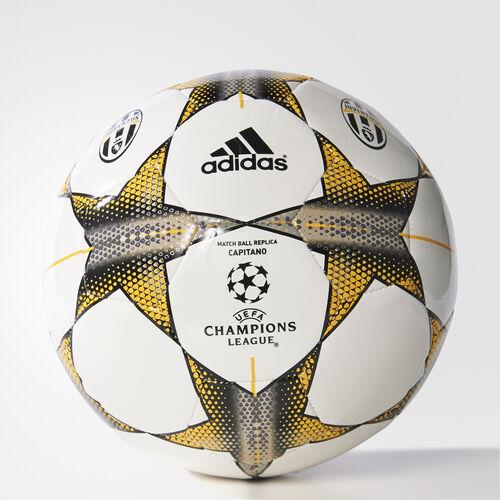 adidas - Finale 15 Juventus Capitano Ball White/Granite/Pantone S90239