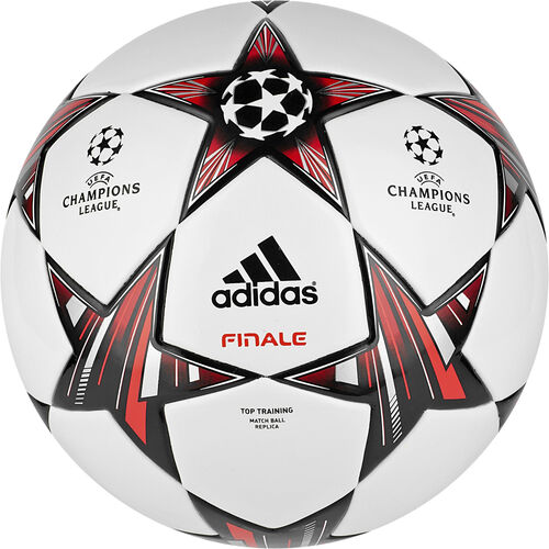 adidas - Finale 13 Top Training Ball White / Black / Metallic Silver G73461