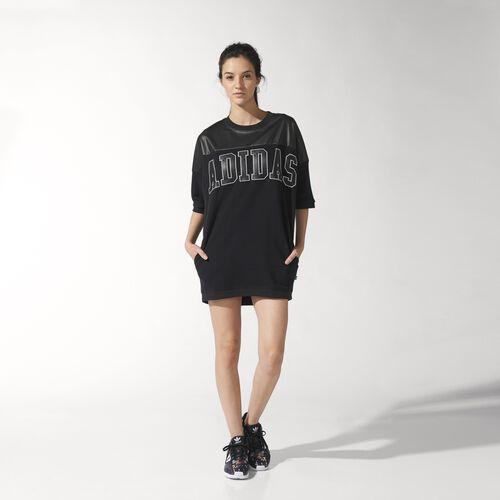 adidas - NY Faux Leather Dress Black S19921