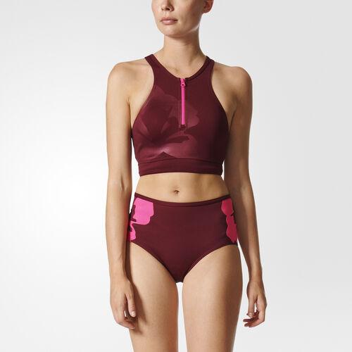 Women's Floral Bikini Top Adidas