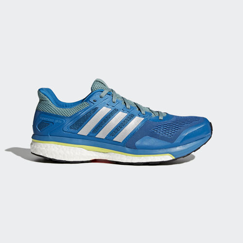 adidas - Zapatillas de running Supernova Glide 8 Unity Blue F16/Silver Met./Vapour Steel F16 BB4059