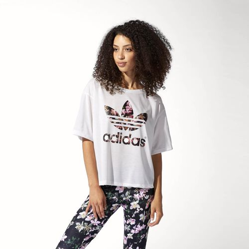 adidas - Women's Orchid Tee Multicolor / Core White S88223