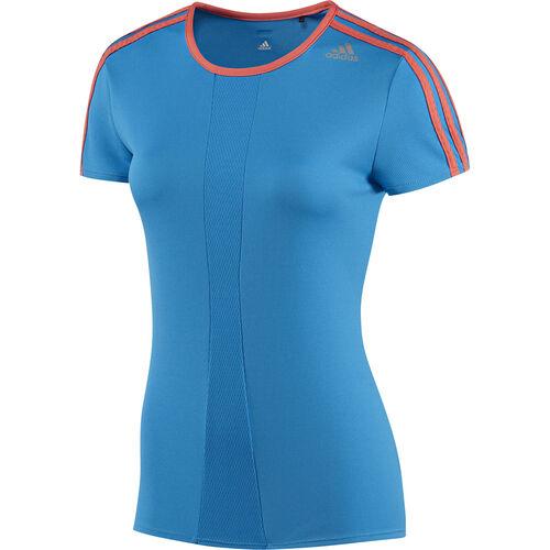 adidas - Femmes Response Tee Solar Blue / Bahia Coral D79971