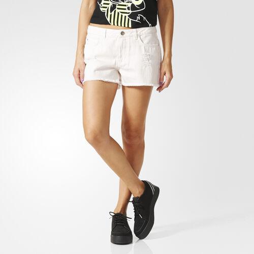 adidas - Femmes Denim Shorts Painters White Denim AJ8490