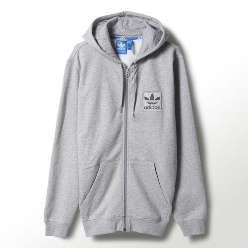 adidas - Men's Sport Essentials Hoodie Medium Grey Heather M30231