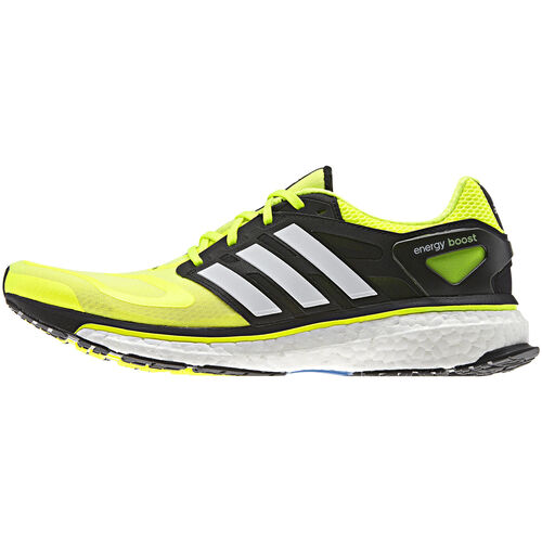 adidas - Men's Energy Boost Shoes Electricity / Black / Running White Q34010