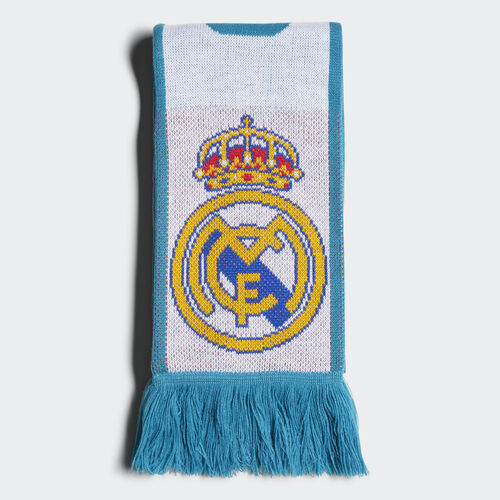 adidas - REAL SCARF WHITE/VIVID TEAL S13 BR7170