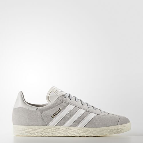 adidas - Men's Gazelle Shoes Clear Onix / White / Gold Met. S76221