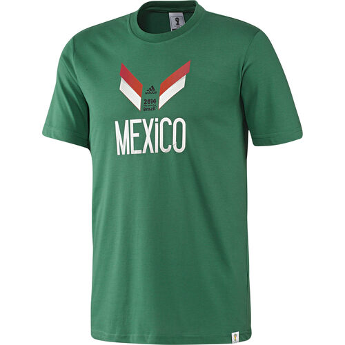 adidas - Men's Mexico Tee Twilight Green F39508