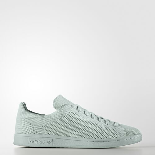 adidas - Hommes Stan Smith Primeknit Shoes Vapour Green/Vapour Green/Vapour Green S80066