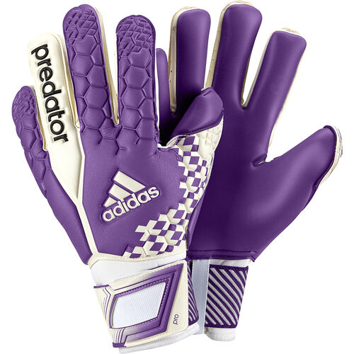 adidas - Predator Pro Goalkeeper Gloves White / Blast Purple / Black G73432