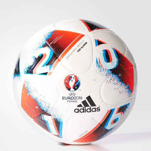 adidas - UEFA EURO 2016 Top Glider Ball White/Bright Blue/Solar Red/Silver Met. AO4860