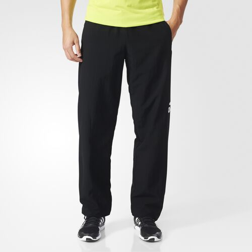 adidas - Men's Sport Essentials Logo Pants Black / White S21309