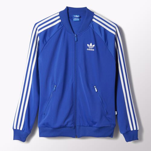 adidas - Women's Superstar Track Jacket Bold Blue S19873