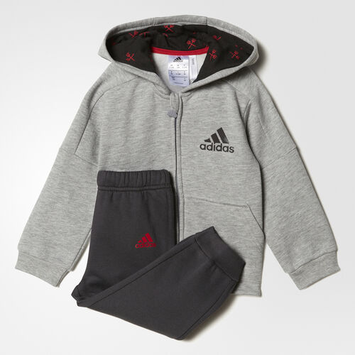 adidas - I MANU JOGGER Medium Grey Heather/Real Red BK3013