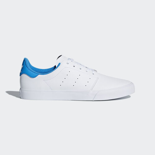 adidas - SEELEY COURT Ftwr White/Ftwr White/Bright Blue BB8587
