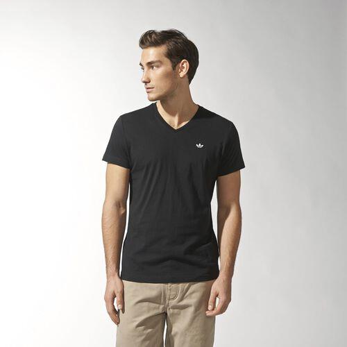 adidas - Men's V-neck Tee Black M30148