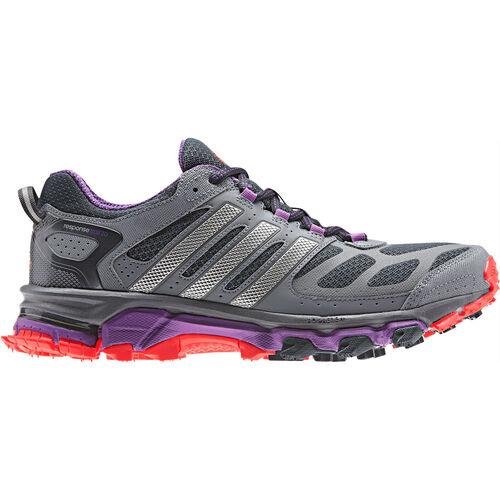 adidas - Femmes Response Trail 20 Shoes Night Shade / Hi-Res Orange / Metallic Silver G97305