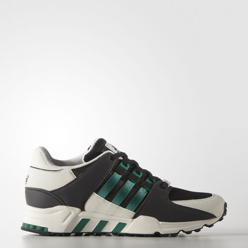 adidas - Hommes Equipment Running Support Shoes Core Black / Sub Green S13 / White Vapour S11 S32145