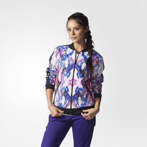 adidas - Femmes Superstar Track Jacket Multicolor AB1986