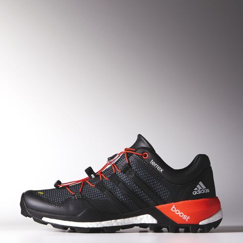 adidas - Hommes Terrex Boost Shoes Core Black/Ftwr White/Solar Red M29067