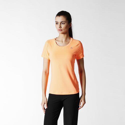 adidas - Women's Clima Essentials Tee Flash Orange S15/Flash Orange S15 S21050