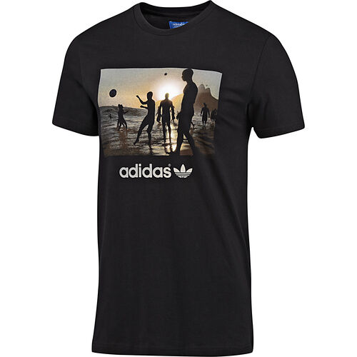 adidas - Men's Bruna Beach Tee Black F77375