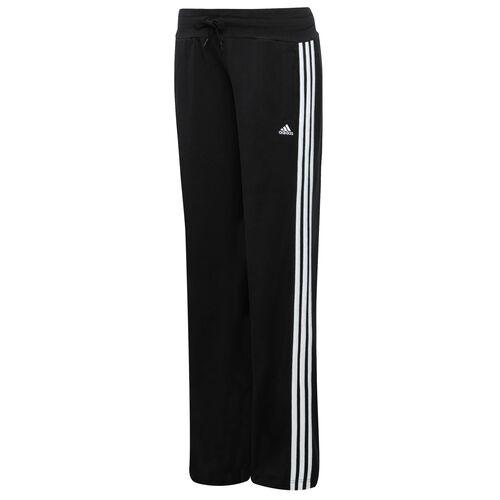 adidas - Women's Essentials 3-Stripes Knit Pants Black / White X27053