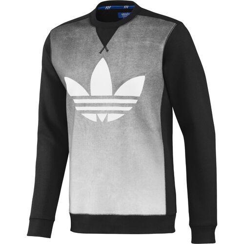 adidas - Hommes Fading Graphic Crew Sweatshirt White / Black F78151