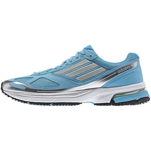 adidas - Women's Adizero Boston 4 Shoes Samba Blue / Pearl Metallic / Metallic Silver G97975