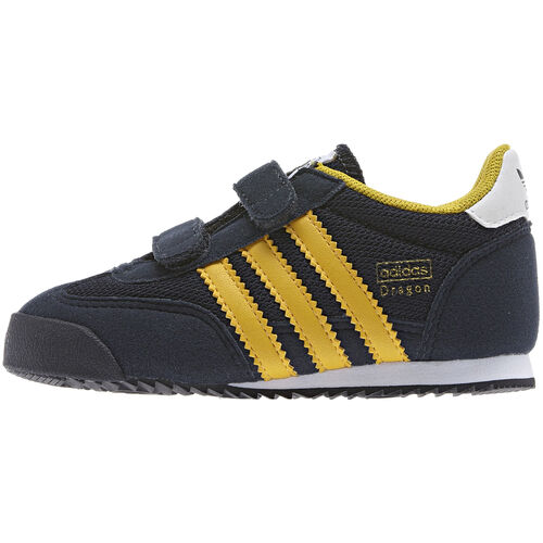 adidas - Kids Dragon Shoes Legend Ink / Running White / Ray Yellow G95079
