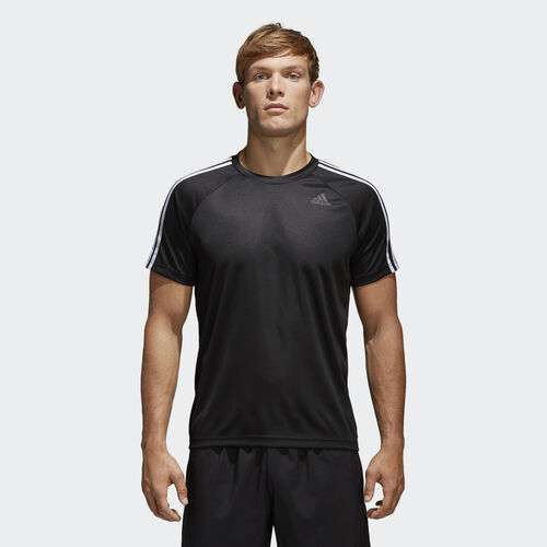 Men's Design to Move 3-Stripes Tee Adidas