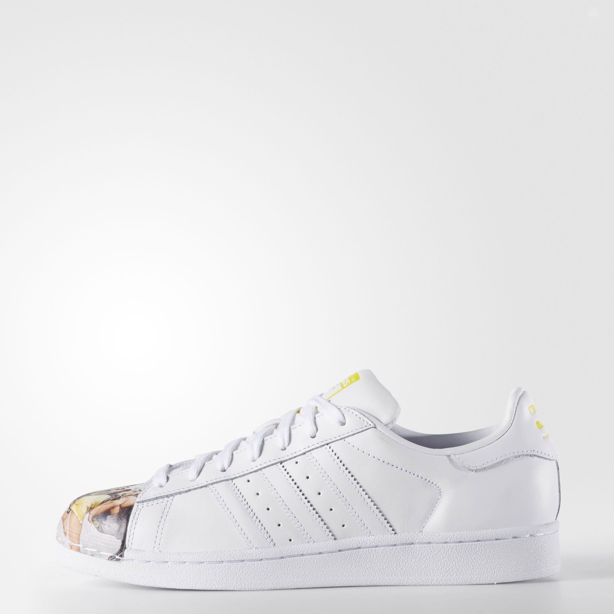 adidas , Zapatillas Originals Superstar Pharrell Supershell Ftwr White / Ftwr White / Yellow S83363