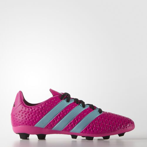 adidas - Enfants ACE 16.4 Firm Ground Boots shock pink s16/blue glow s16/core black AF5016