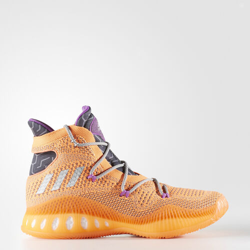 adidas - Crazy Explosive Primeknit Shoes Glow Orange  /  Silver Metallic  /  Solid Grey BB8370