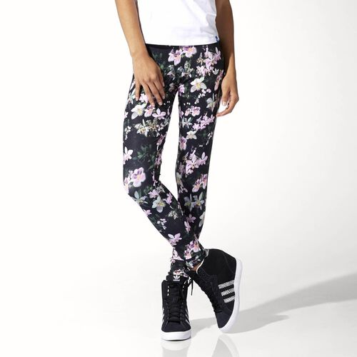 adidas - Femmes Orchid Leggings Multicolor / Black S88227