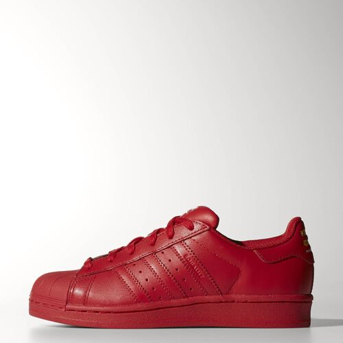adidas - Youth Superstar Supercolor Shoes Red S09/Red S09/Red S09 S31608