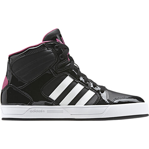 adidas - Women's BBNEO Raleigh Mid Shoes Black / Bloom / Running White Q26247